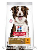 Psi - krmivo - Hills - Hill's Can.Dry SP H.Mobility Adult Medium Chicken