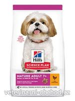 Psi - krmivo - Hills - Hill's Can.Dry SP Mature Adult7+Small&Mini Chicken