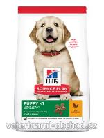 Psi - krmivo - Hills - Hill's Can.Dry SP Puppy LargeBreed Chicken ValPack