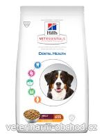 Psi - krmivo - Hills - Hill's Can.Dry VE Adult Dental LargeBreed Chicken