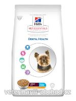 Psi - krmivo - Hills - Hill's Can.Dry VE Adult Dental Small&Mini Chicken